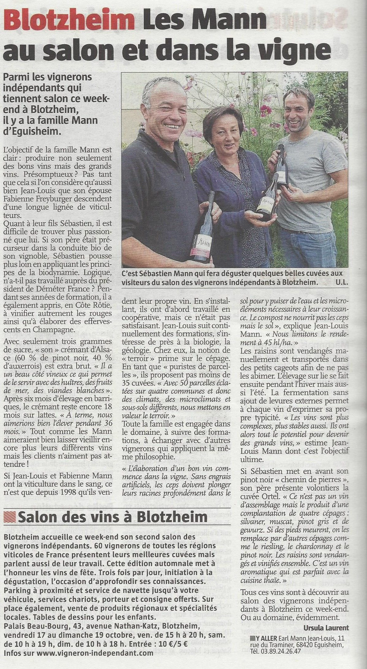 article ALSACE 17-10-2014 retouche